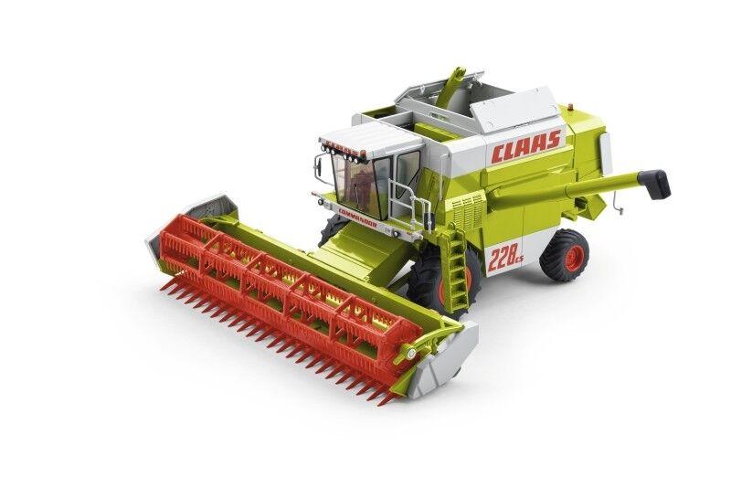 Wiking 0001706570 CLAAS commandor 228 CS avec large pneumatiques Nouveau Neuf dans sa boîte