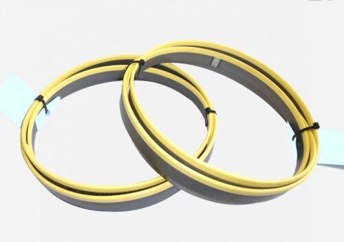 2 x M42 HSS Bimetall Sägebänder Sägeband 2360 x 20 x 0,9 mm 5//8 ZpZ Edelstahl