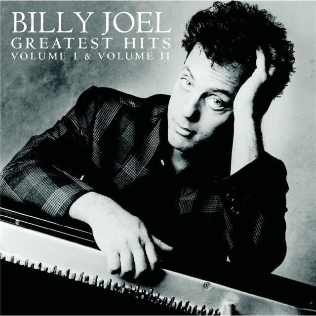 Billy Joel Greatest Hits Volume I & Volume II Remastered 2 CD NEW unsealed