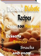 Diabetic Recipes ebook in PDF with Free Gifts on CD -  FREE SHIPPING!
