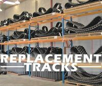 Bobcat T250-t300-t320 18 Replacement Tracks(two) B450x86x55,multiple Locations