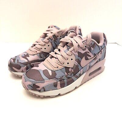 Nike Air Max 90 CSE Winter Camo Pink Shoes Womens Size 5 AQ9721 500 New | eBay