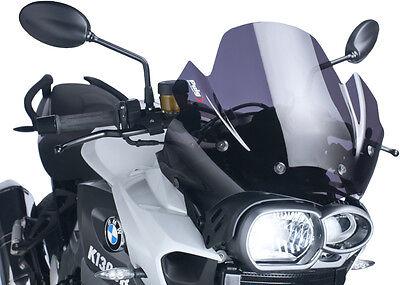 BMW K1300S PUIG RACING SCREEN DK SMK /'09 K1300R Fits