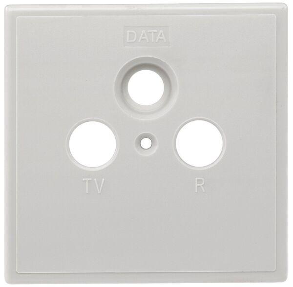 50x Axing Szu 2-01 Antennendosen-abdeckungen Tv, Ukw, Data Een Brede Selectie Kleuren En Motieven