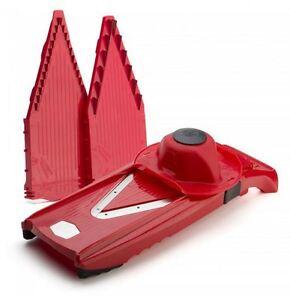 New-Borner-V5-Power-Slicer-Red-Stainless-Steel-Kitchen-Blades-Cutting-Slicing