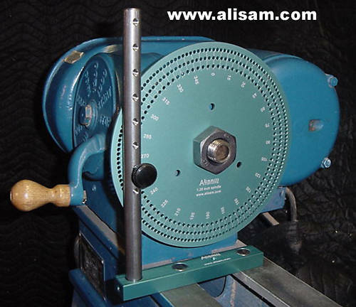 LARGE Wood lathe indexing system for One Way lathes!