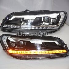North American Version LED Turn Light Passat B7 LED Headlights 2011-2015 year LD