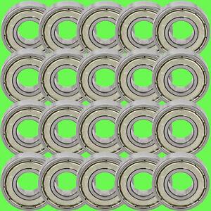 20-Pz-636-Zz-Cuscinetto-a-Sfere-6-x-22-x-7-mm-Gola-Profonda-6-Albero