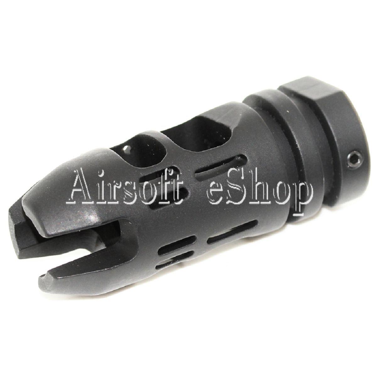 AirsoftMega APS EMG Falkor Defense VG6 Epsilon Muzzle Brake FlashHider -14mm