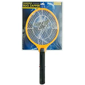Rechargeable-Electric-Mosquito-Fly-Swatter-Zapper-Pest-Insect-Tennis-Racket-NEW