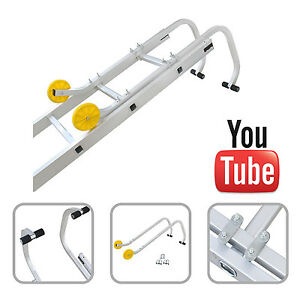 Roof hooks for bricks cover and pans Cover ROOF LADDER ACCESSORIES 2er set