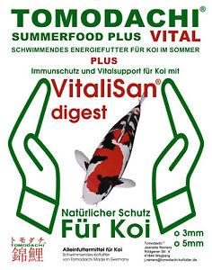 Koi Food Summer, Spiruline, Astax, Monoglycérides Pour Koealth 5mm 10kg