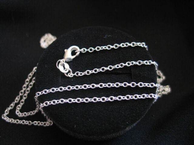 """Necklace 925 Sterling Silver """" O """" 1.4mm  **Lengths 45cm - 75cm (18""""-30"""")"""