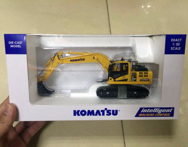Nuevo UH8104 edición IMC Komatsu PC210LCi-10 máquina de construcción 1 50