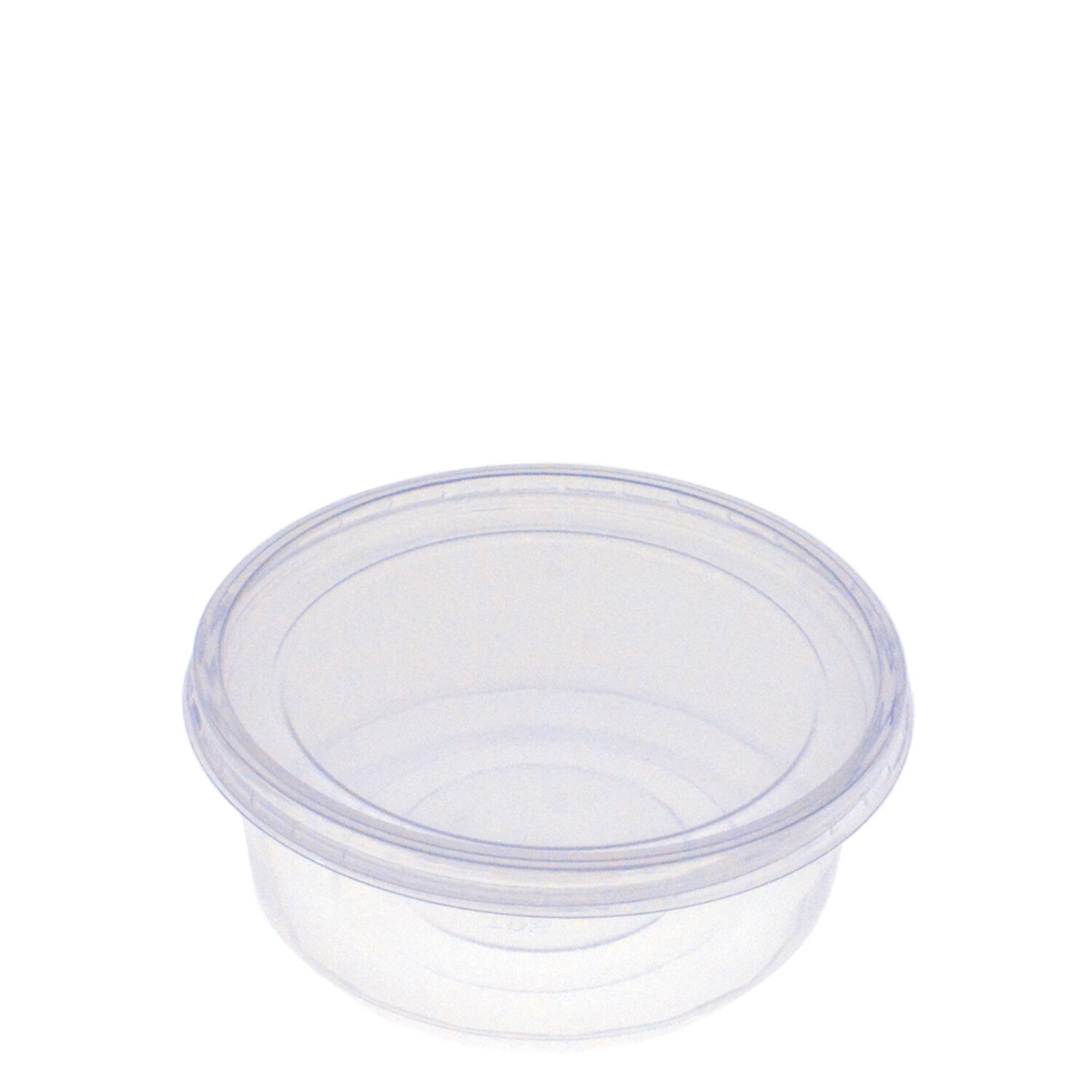 8oz Round Plastic Deli Food Containers with Lids BPA FREE- FREE SHIPPING