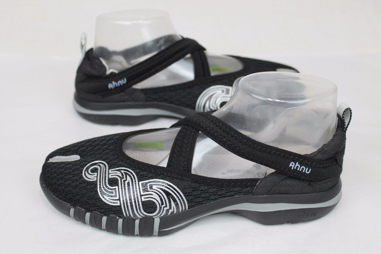 Ahnu Deporte Yoga Split Negro con tirantes Yoga Deporte Ahnu Zapatos Sin taco para mujer EE. UU. 6ac671