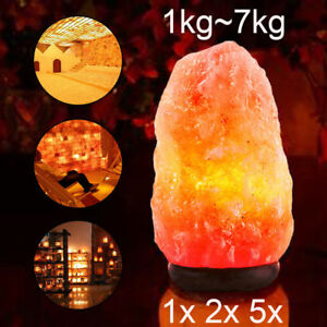 1-14-kg-Himalayan-Salt-Lamp-Natural-Crystal-Rock-Shape-Dimmer-Switch-Night-Light