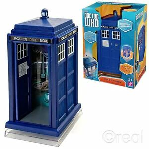 New-Doctor-Who-Spin-and-Fly-TARDIS-Electronic-Vehicle-w-Lights-amp-Sounds-Official