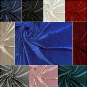 Tessuto velluto Bielastico velvet per abbigliamento H.150 vendita da mezzo metro