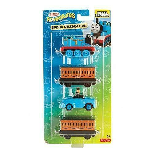 Thomas And Friends Sodor Celebration Engine Multipack The Tank Toy Engines DXT80