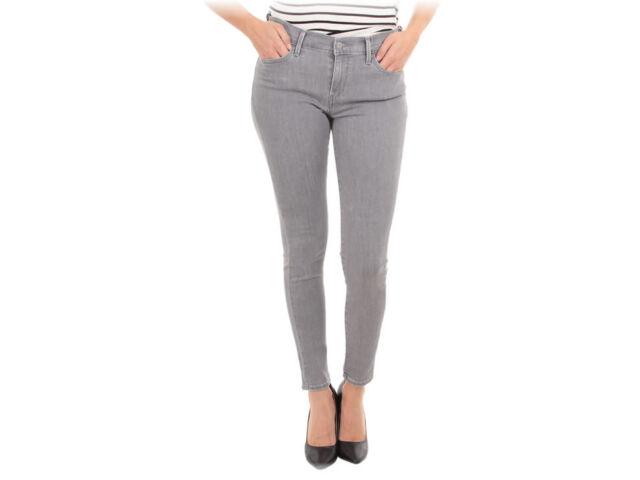 Levi's Womens Jeans Black Size 27x30 Mile High Super Skinny Leg Stretch $69 239