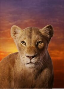 THE LION KING 2019 POSTER A4 A3 A2 A1 CINEMA MOVIE LARGE FILM ART