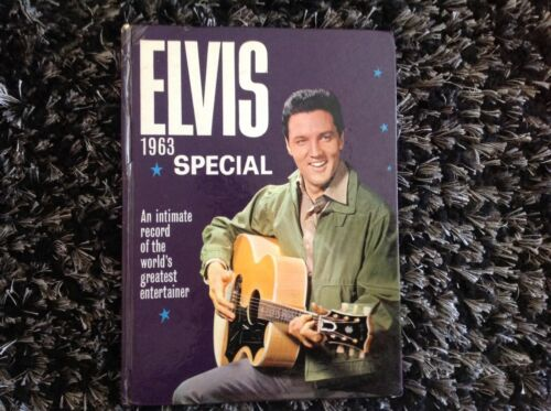 Elvis Special 1963 Albert Hand World Distributors Hardcover VGC