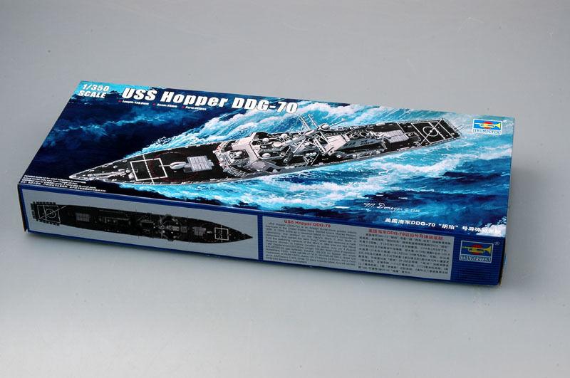 Trumpeter USS Hopper DDG-70 Destroyer Warship 04525 1 350 Plastic Model Kit