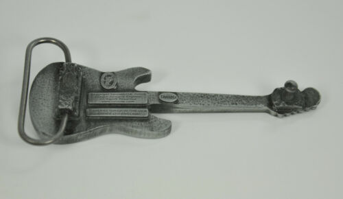 028 bl. Rockn /'roll E Guitare Boucle de ceinture guitariste Belt Buckle Boucle