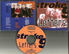 STROKE 9 Letters w/ RARE ROCK REMIX & EDIT PROMO DJ CD Single 2000 USA MINT