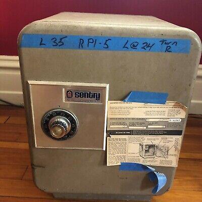 Vintage Sentry Safe Combination Floor Safe 19 Tall X 14 Wide Ebay