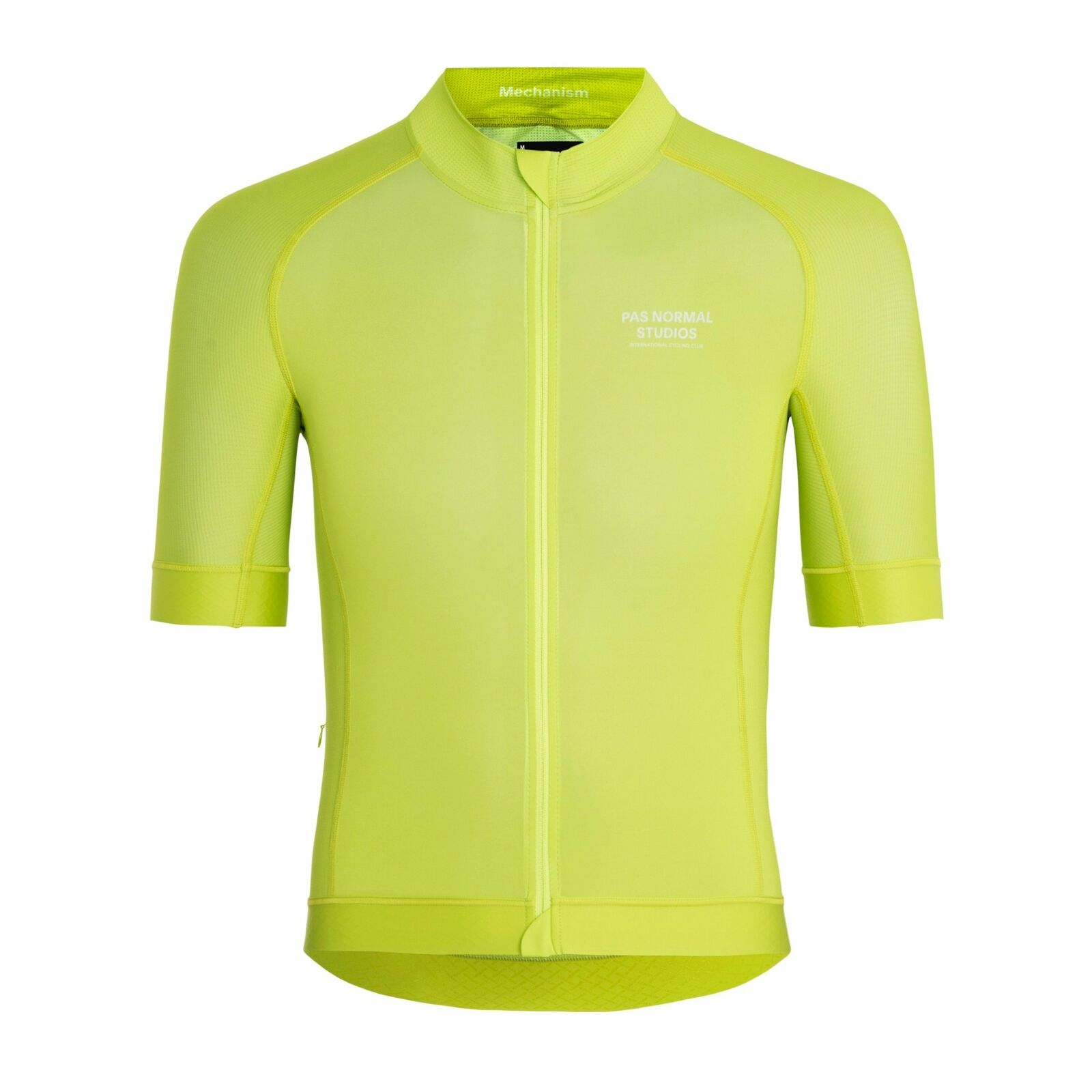 Pas Normal Studios Mechanism Jersey - Bright Lime