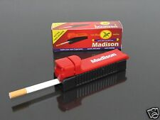 2pcs Madison Manual Tobacco Roller Maker Cigarette Rolling Machine Injector #710