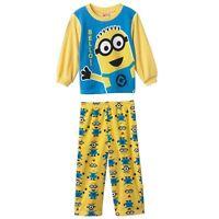 Despicable Me 2 bello 2 Piece Minion Fleece Pajama Set - 2t - Free Ship