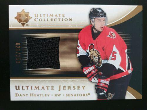 2005-06 Ultimate Collection de Jersey jhe dany Heatley #021//250
