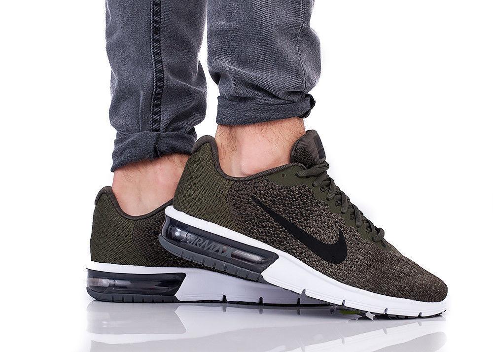 Nike air max successive 2 uomini (dimensioni - carico cachi nero 852461 300
