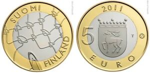 Finlande 5 euro 2011 - Province Aland UNC