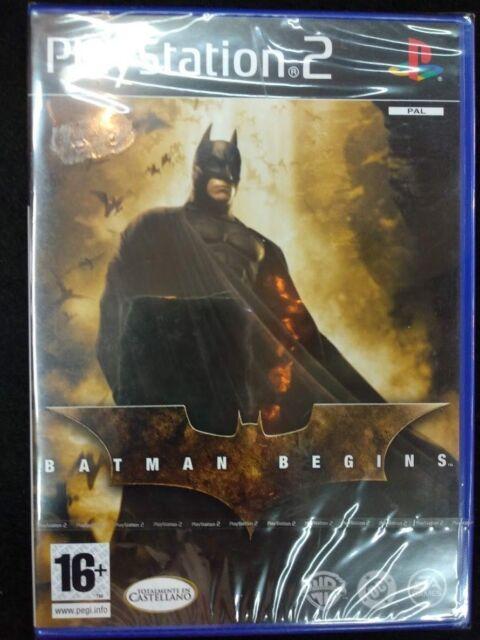 Batman Begins nuevo y precintado para playstation 2