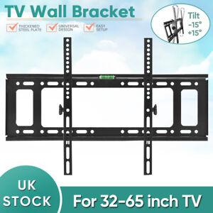 TV-Wall-Mount-Bracket-Shelf-Tilt-amp-Swivel-Flat-Plasma-LCD-LED-Slim-32-65-inches
