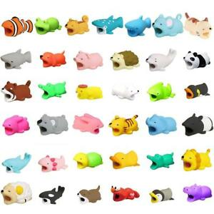 Cute Animal Bite Cable Protector Data Line Protector Prevents Disconnect Saver