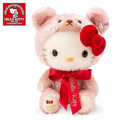 HELLO KITTY 40TH ANNIVERSARY LIMITED PLUSH  DOLL Steiff stuffed SANRIO Brand New