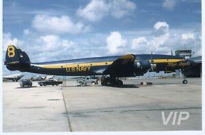 Aircraft-Photo-4-x-6-131823-Lockheed-C-121J-Constellation-U-S-Navy-1960s