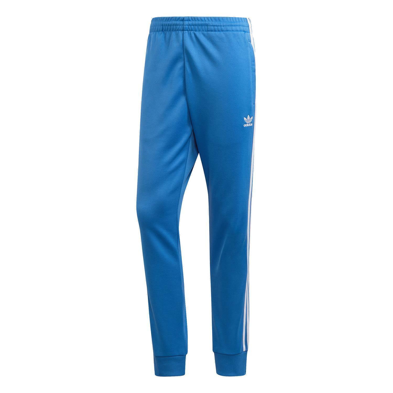 adidas ORIGINALS MEN'S SST TRACKSUIT BOTTOM SUPERSTAR BLUEBIRD PANTS TROUSERS