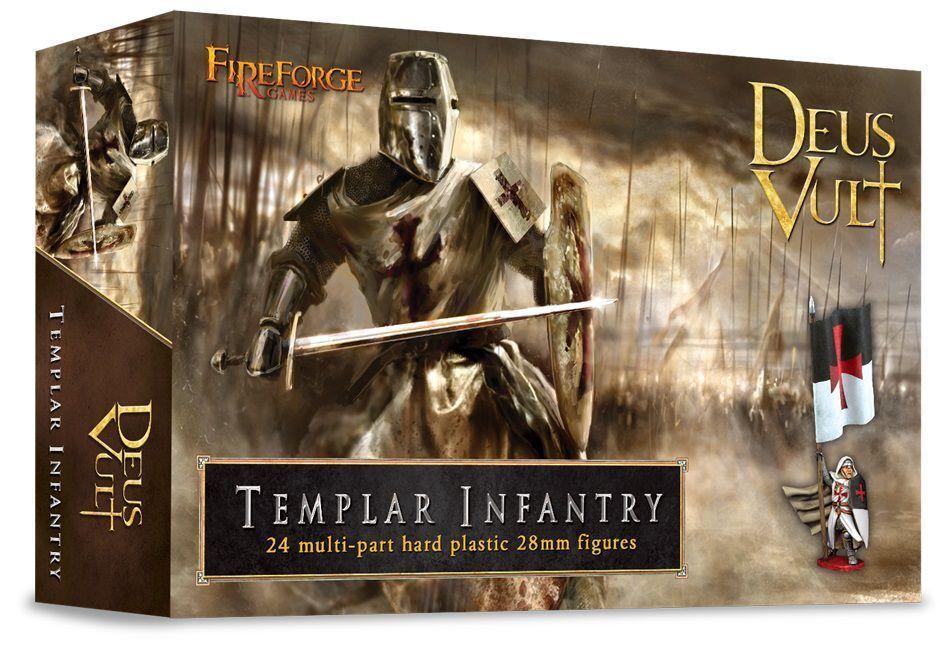 Templar infanterie fireforge spiele deus vult ritter mittelalter mittelalter ritter