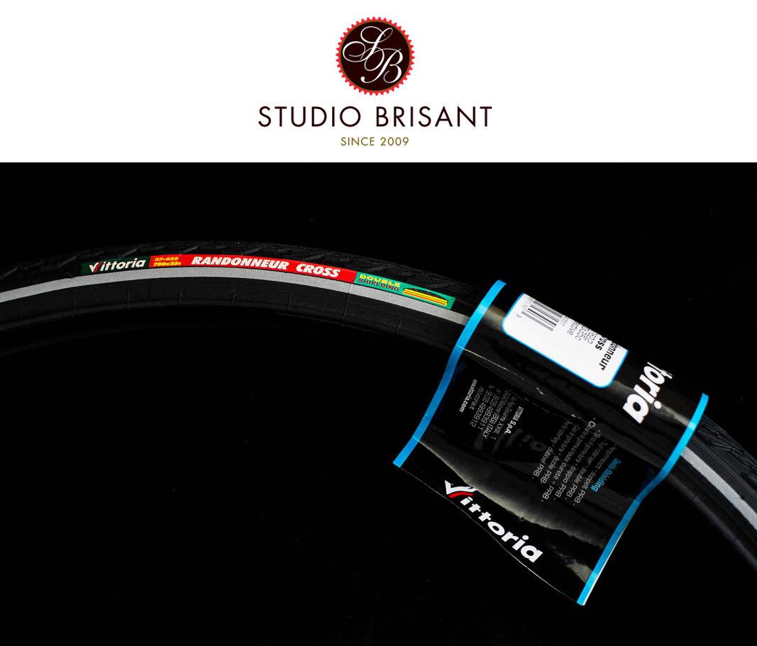 2x Vittoria Randonneur Cross Reifen 37-622 schwarz  37+40 mm Double Shielding Tyre
