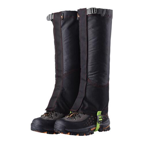 Waterproof Winter Warm Gaiters Climbing Boot Gaters Camping Hiking Leggings 2pc