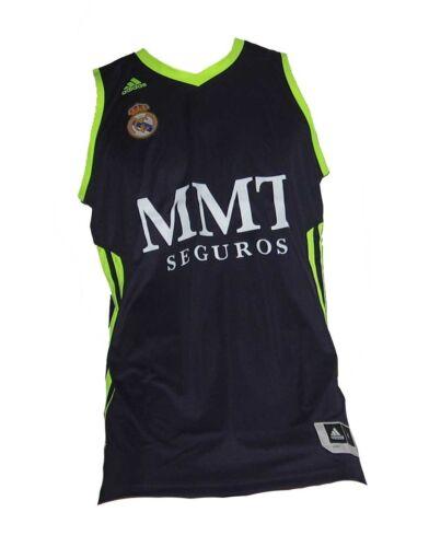 Real Madrid Basketball Trikot Adidas Navy