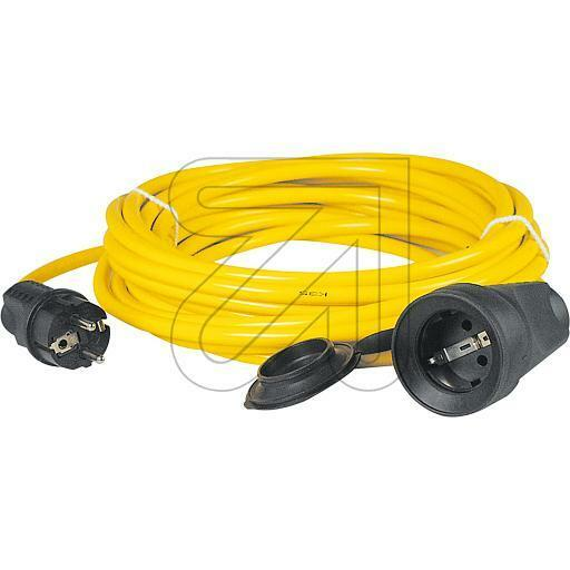 Verlängerungskabel, XYMM-F 3x1,5mm², 042830, 10m, Gummi Panzer Leitung, Kabel