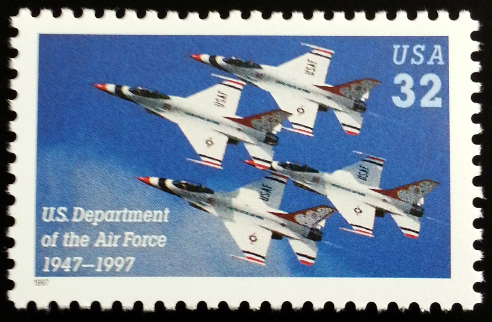 1997 32c Department of the Air Force, 50th Anniversary