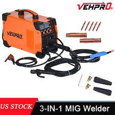 3 In 1 Mig Welder Dc 200a Inverter Mma Tig Gas Gasless Arc Spool Welding Gun